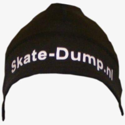 Perfacts Skate-dump Muts oranje tekst