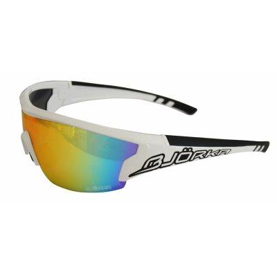 Bjorka Sunglasses Flash white/black