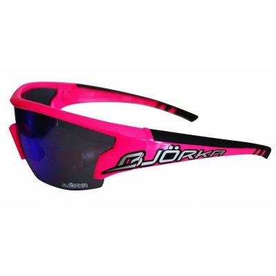 Bjorka Sunglasses Flash Fluo Pink