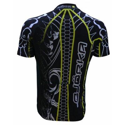 BjorkaFusion Geel/Zwart fiets shirt