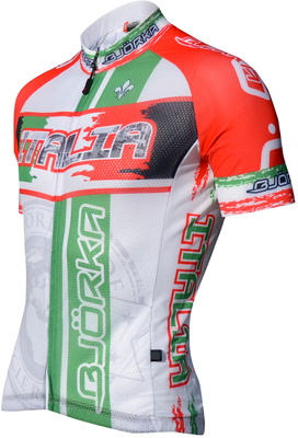 Bjorka Maillot World Italië Wit