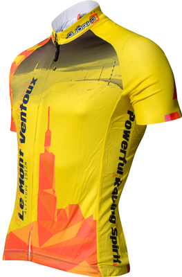 Maillot Mont Ventoux Yellow