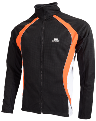 Hunter Windtex Jacke  black/ Orange / Grey