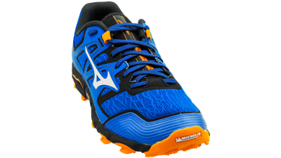 Mizuno Wave Hayate 6 Blue/Lunar Rock/Fluor orange