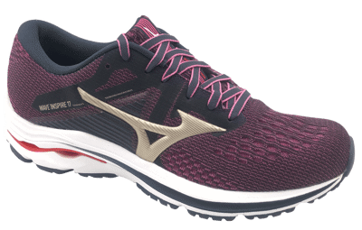 Mizuno Wave Inspire 17 IndiaI/PGold/Ignition Red
