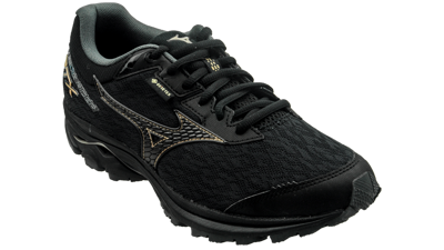 Mizuno Wave Rider GTX black/gold