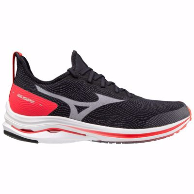 Mizuno Wave Rider Neo Black/White/Ignition Red