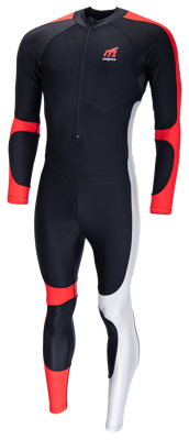 Mogema Lycra speedpak black/red/silvergrey