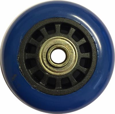 Montagewiel Blauw 69mm