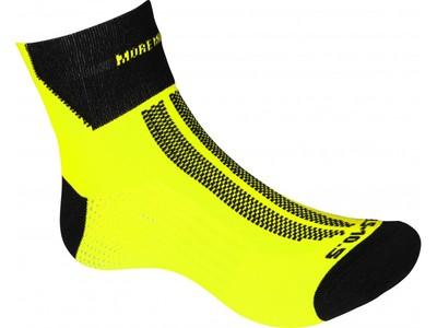 fluo geel lumino lite sokken