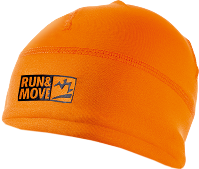 Run en Move Mütze Orange