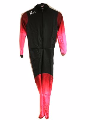Nice Speedskating Suit Black/Brown/Pink