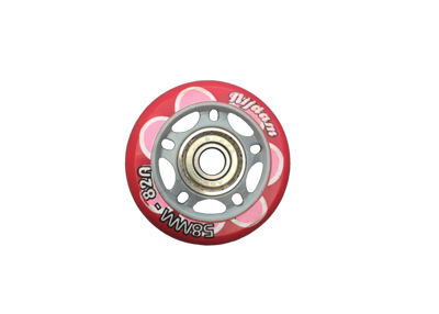 Nijdam wheel 58mm incl. bearings