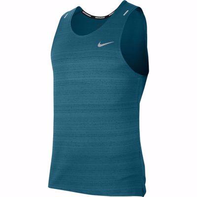 Nike Dri FIT Miler Tank Bluestery/Reflective Silver