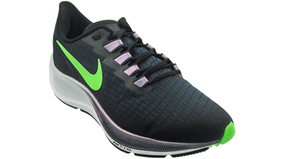 Nike Men's Air Zoom Pegasus 37 black/lime/blast-valarian blue