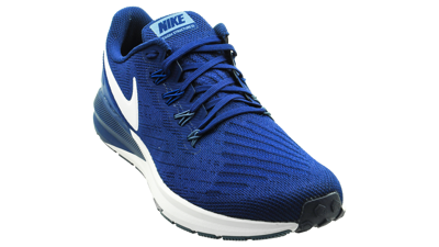 Nike Men's Air Zoom Structure 22 Blue Void/Vast Grey-Gym Blue