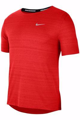Nike Miler running t-shirt red
