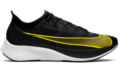 Nike Zoom Fly 3 Black/Opti Yellow-White