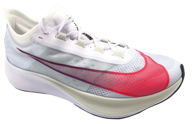 Nike Zoom Fly 3 White/Flash Crimson