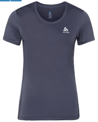 Odlo T- shirt dames basislaag top met ronde hals k/m Core Light