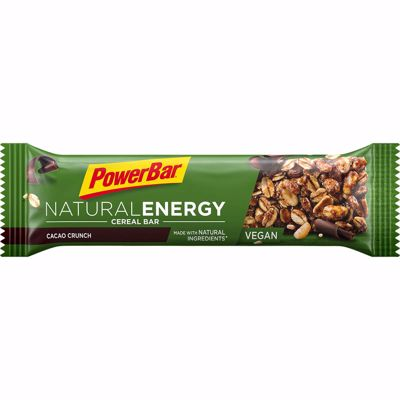 Powerbar Natural energybar: cacao crunch (vegan)