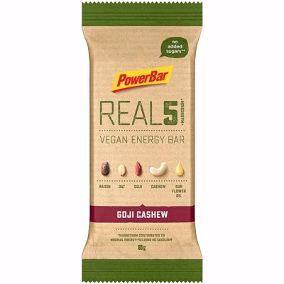 Powerbar Real5 vegan enery bar Goji Cashew