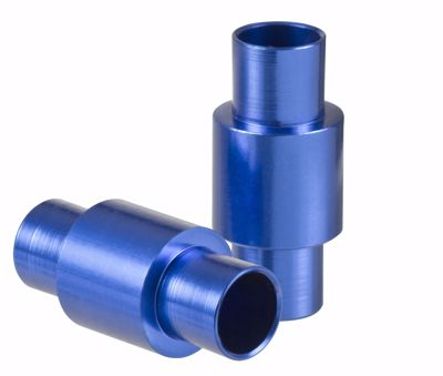 Powerslide Alu Spacer 6mm Blue 8-pack