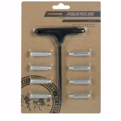 Powerslide Axes 8 pieces, with torx mounting key