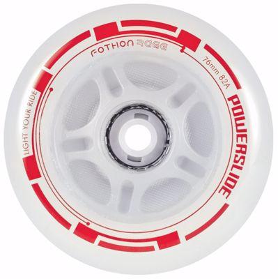 Powerslide Fothon Rage LED Red 4-pack 76mm