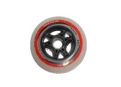 Powerslide infinity grijs/rood 100mm wiel
