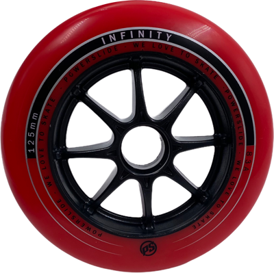 Powerslide Infinity red 125mm 83a