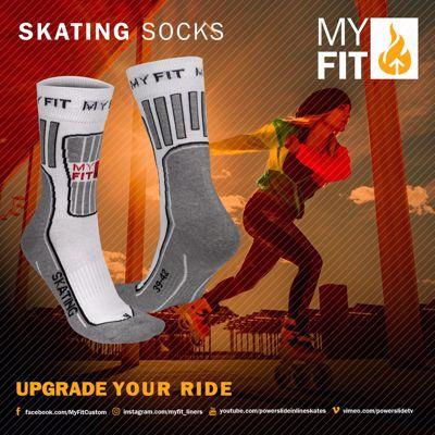 Powerslide Myfit Skating Socks Fitness
