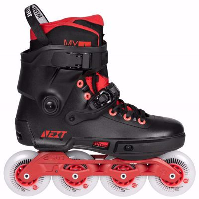 Powerslide Next Black Red 80