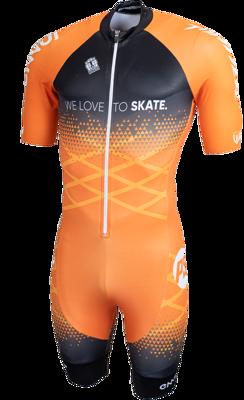 Powerslide combinaison  orange 2021