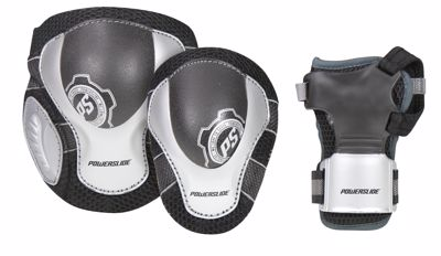 Powerslide Pro Air Protection Set black grey