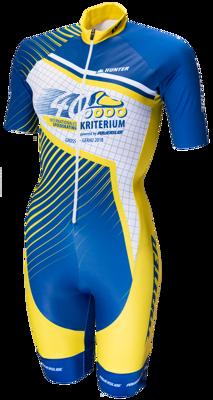 Powerslide skatesuit criterium 2018 kobalt-yellow