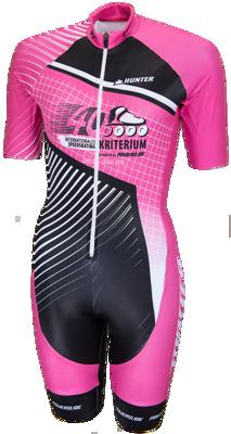 Powerslide Skatesuit criterium 2018 pink