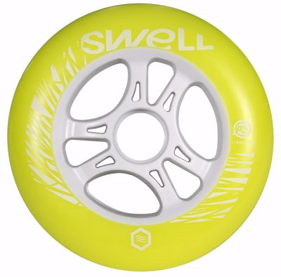 Powerslide Swell geel 110mm