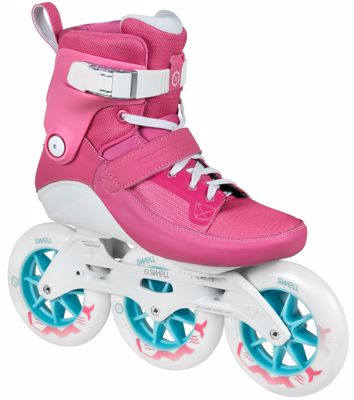 Powerslide Swell skates Flamingo 125mm