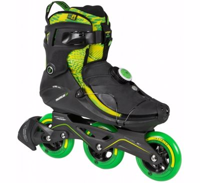 Powerslide Cortex Green 3x100