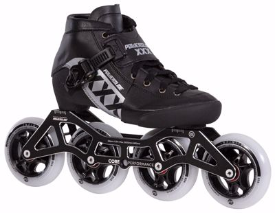 Powerslide XXX KIDS ADJUSTABLE BLACK
