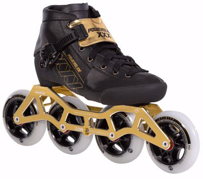 Powerslide XXX KIDS ADJUSTABLE Gold