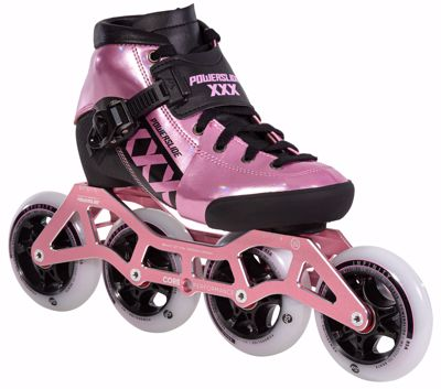 Powerslide XXX KIDS ADJUSTABLE pink