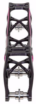 Powerslide XXX4 110 Titanium Pink (3x110 1x100)