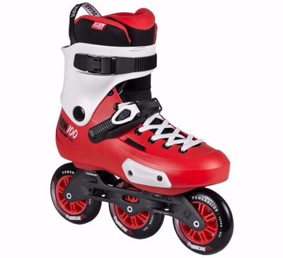 Powerslide Zoom Trinity 100 Red/Black
