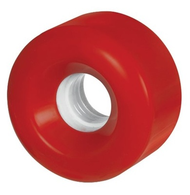 Blank Roller Derby 58mm Red