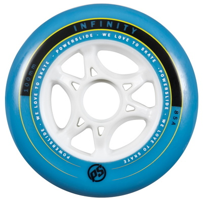 Powerslide Infinity II blue 100mm