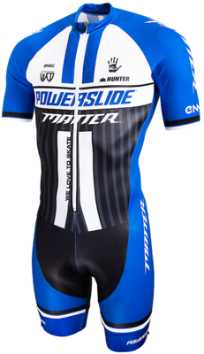 Powerslide Inline Skinsuit World BLUE sleeve 2019