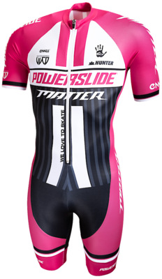 Powerslide Inline Skinsuit World PINK sleeve 2019