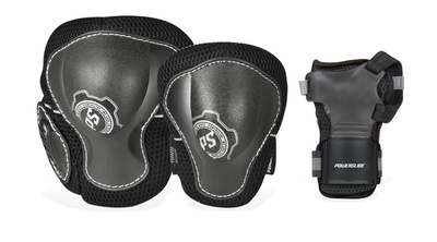 Powerslide Pro Air Protection Set black